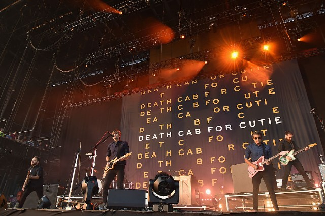 Death Cab For Cutie at Marymoor Amphitheater