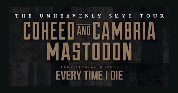 Coheed and Cambria & Mastodon at Marymoor Amphitheater