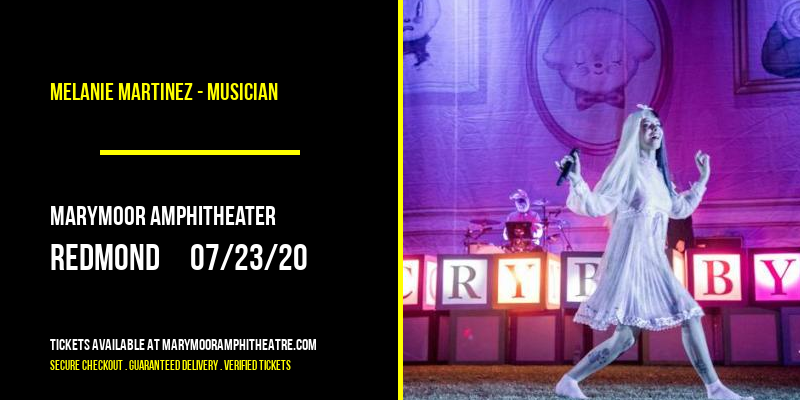 Melanie Martinez - Musician at Marymoor Amphitheater
