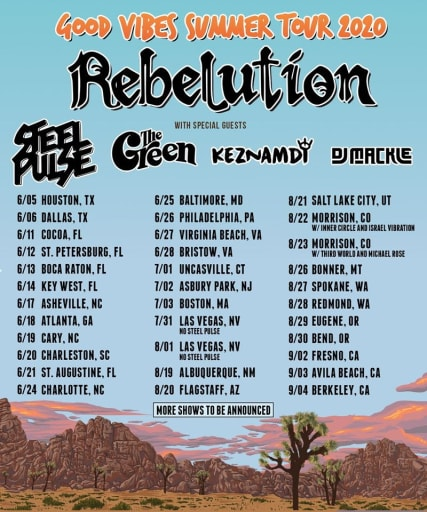 Rebelution, Steel Pulse & The Green at Marymoor Amphitheater