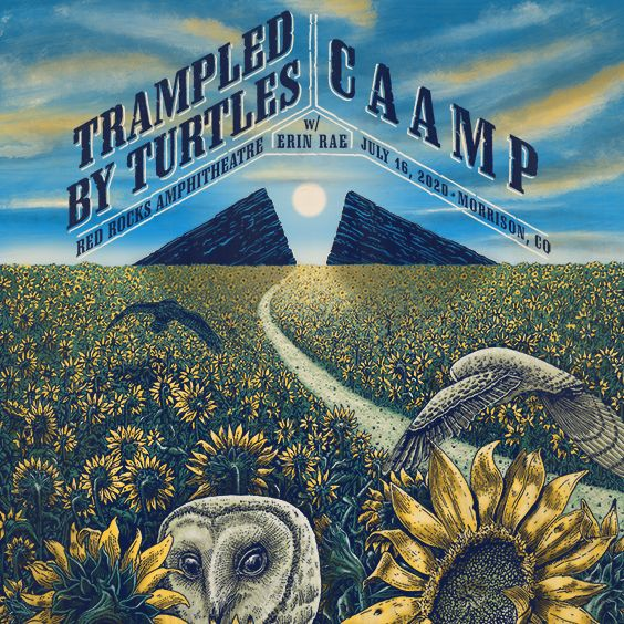 Trampled by Turtles & CAAMP at Marymoor Amphitheater