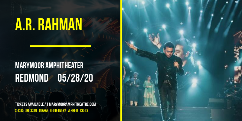 A.R. Rahman at Marymoor Amphitheater