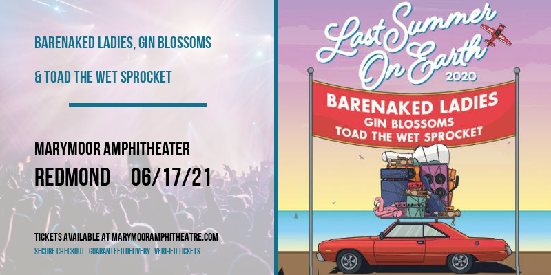 Barenaked Ladies, Gin Blossoms & Toad The Wet Sprocket at Marymoor Amphitheater
