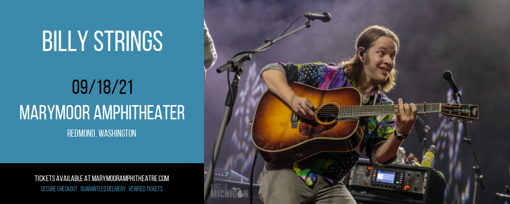 Billy Strings at Marymoor Amphitheater