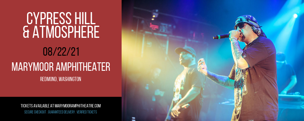 Cypress Hill & Atmosphere at Marymoor Amphitheater